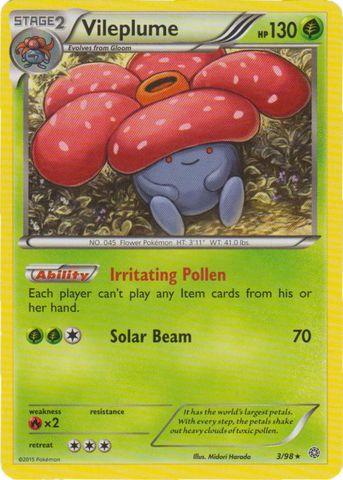 Vileplume - 3/98 - Rare