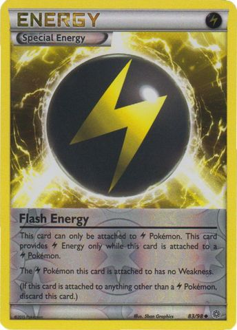 Flash Energy - 83/98 - Uncommon - Reverse Holo