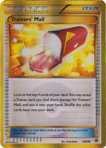 Trainers' Mail - 100/98 - Secret Rare