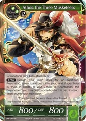 Athos, the Three Musketeers - CMF-060 - SR