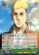 Scout Regiment Commanding Officer Erwin - AOT/S35-E042 - U