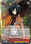 Awkward Affection Mikasa - AOT/S35-E061 - R