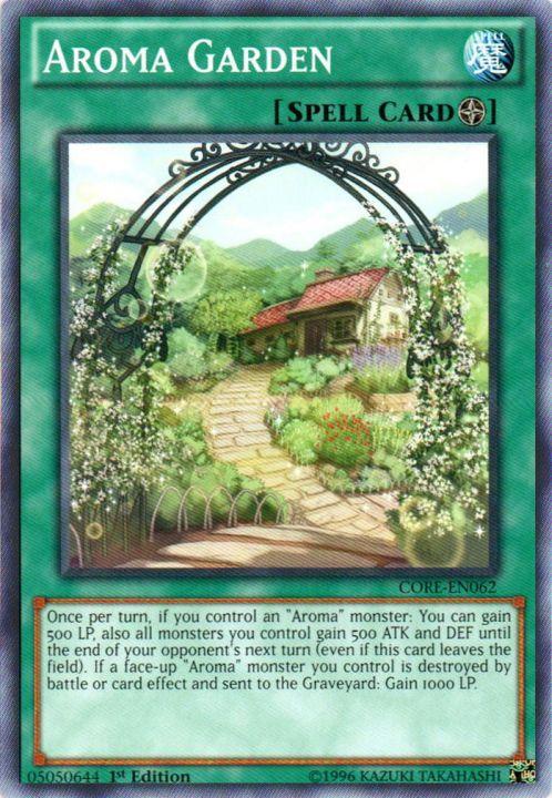 Aroma Garden - CORE-EN062 - Common - 1st Edition