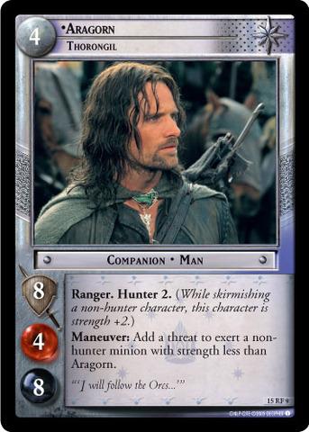 Aragorn, Thorongil (F)