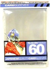 Player's Choice Yu-Gi-Oh Sleeves Pack of 60 in Clear