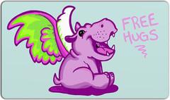 Free Hugs Playmat