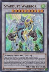 Stardust Warrior - SDSE-EN040 - Ultra Rare - 1st Edition on Channel Fireball