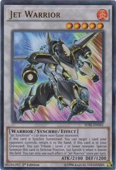 Jet Warrior - SDSE-EN041 - Ultra Rare - 1st Edition on Channel Fireball