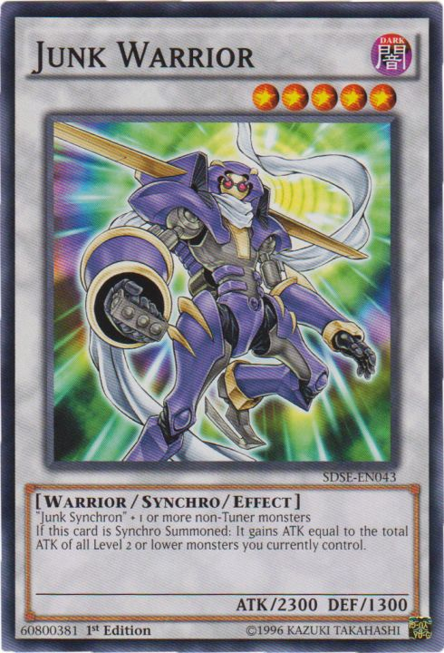 Junk Warrior - SDSE-EN043 - Common - 1st Edition