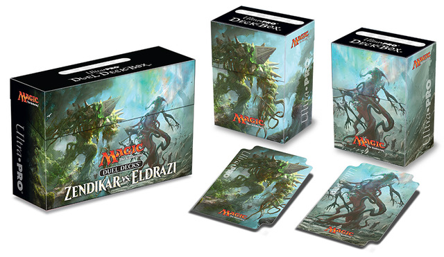 Ultra Pro Zendikar vs Eldrazi Duel Deck Box for Magic