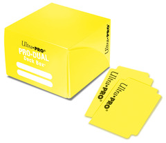PRO Dual Standard Yellow Deck Box