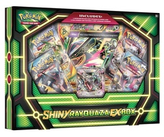 Pokemon Shiny Rayquaza EX Collection Box