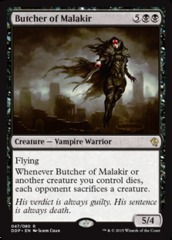Butcher of Malakir on Channel Fireball
