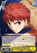 Sabers Master Shirou - FS/S34-E002 - RR