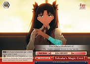 Tohsaka's Magic Crest - FS/S34-E072 - CR