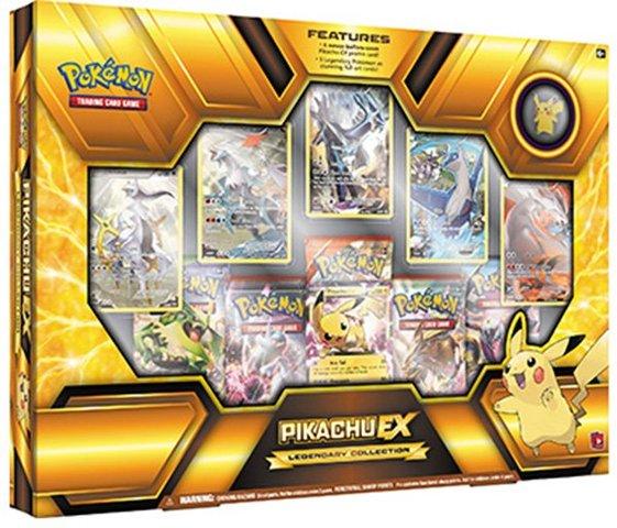 Pokemon Pikachu EX Legendary Collection