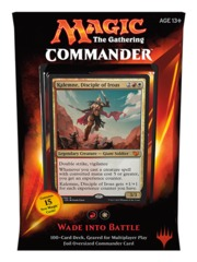 Commander 2015: Wade into Battle (Red/White) --OPEN BOX- SLEEVED