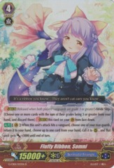 Fluffy Ribbon, Somni - G-CB01/013EN - R (Alternate Foil) on Channel Fireball