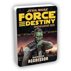 Star Wars:  Force and Destiny - Aggressor Specialization Deck