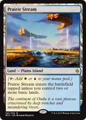 Prairie Stream on Channel Fireball