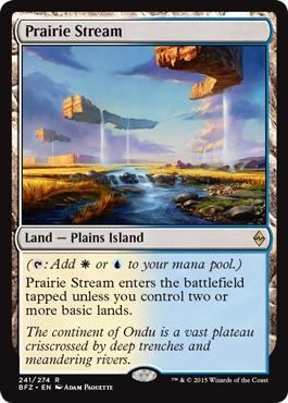 Prairie Stream - Foil