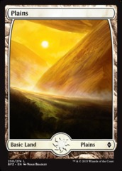 Plains (Full Art) - Battle for Zendikar - 250