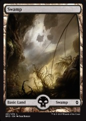 Swamp (Full Art) - Battle for Zendikar - 261