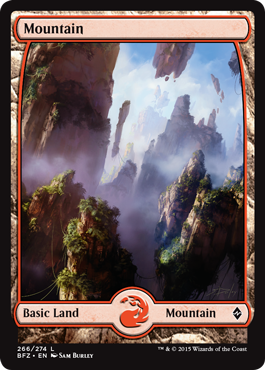 Mountain (266) (Full Art)