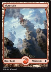 Mountain (Full Art) - Battle for Zendikar - 269