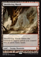 Smoldering Marsh Expedition - Foil