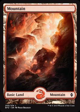 Mountain (265) - Foil - Full Art