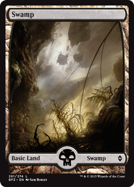 Swamp (261) - Foil (Full Art)