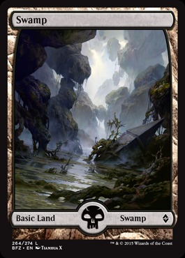 Swamp (264) - Foil (Full Art)