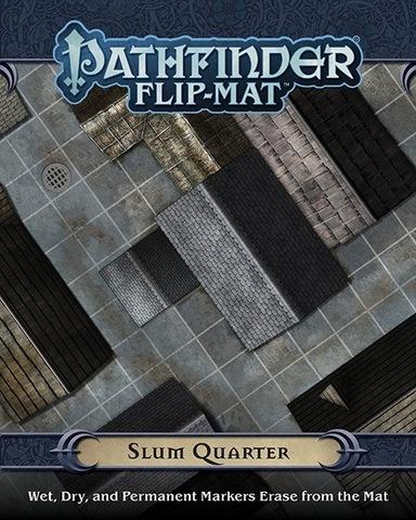 Pathfinder GameMastery Flip-Mat: Slum Quarter