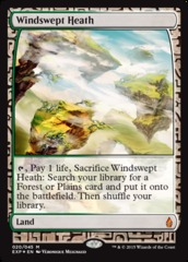 Windswept Heath - Foil (Zendikar Expedition: Battle for Zendikar Lands)