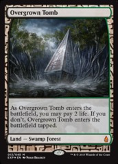 Overgrown Tomb - Foil (Zendikar Expedition: Battle for Zendikar Lands)