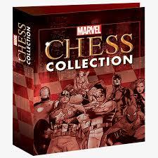 Marvel Chess Figure & Collector Magazine Binder