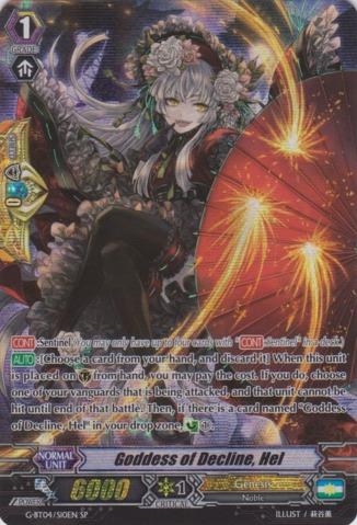 Goddess of Decline, Hel - G-BT04/S10EN - SP