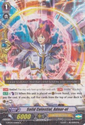 Solid Celestial, Adnar-el - G-BT04/028EN - R