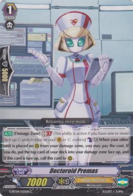 Doctoroid Premas - G-BT04/055EN - C