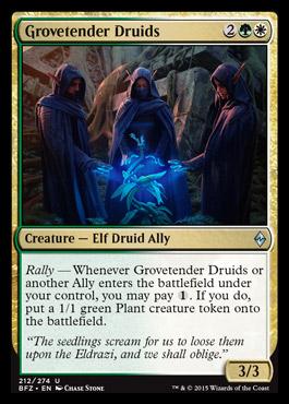 Grovetender Druids - Foil