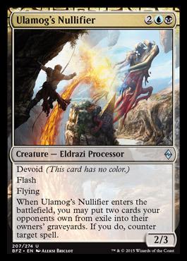 Ulamogs Nullifier - Foil