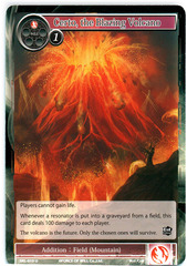 Certo, the Blazing Volcano - SKL-019 - U - 1st Edition