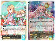 Alice, the Girl in the Looking Glass // Alice, the Saint of Healing - SKL-092 // SKL-092J - R - 1st Edition on Channel Fireball