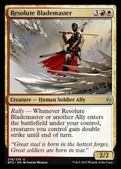Resolute Blademaster - Foil