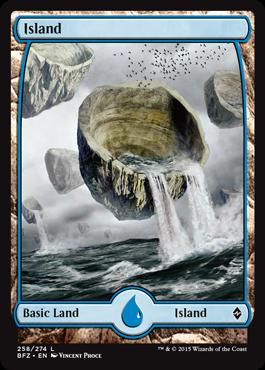 Island (258) - Foil - Full Art