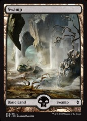 Swamp (262) - Foil - Full Art