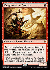 Dragonmaster Outcast - Foil on Channel Fireball