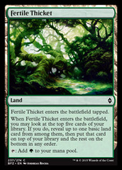 Fertile Thicket - Foil