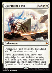 Quarantine Field - Foil